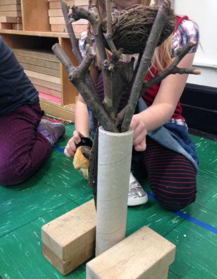 building tree with branches