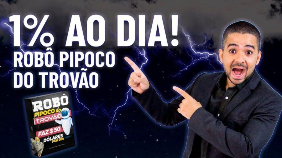ROBÔ PIPOCO DO TROVÃO FUNCIONA? COMO COMPRAR QUAL SITE