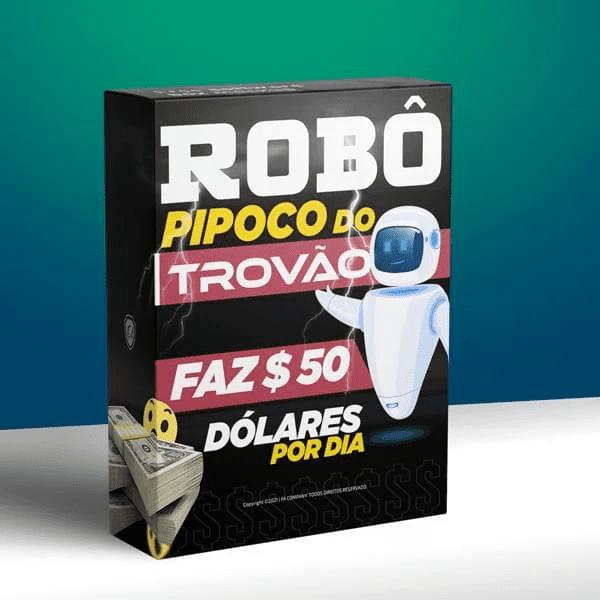 ROBÔ PIPOCO DO TROVÃO COMO USAR