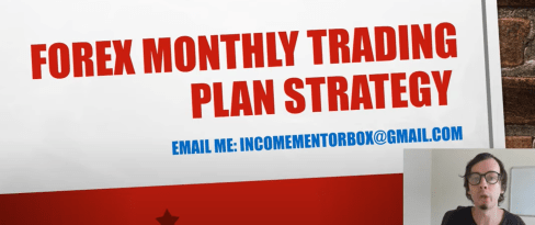 Monthly Forex Trading Plan