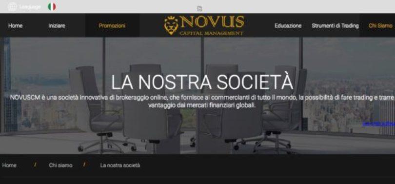 NovusCM opinioni e recensioni Truffa o non Truffa?