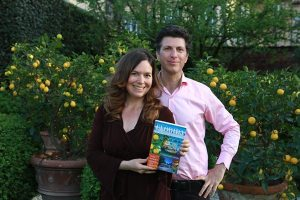 Lisa and Lee with their highly acclaimed book about Florida Real Estate