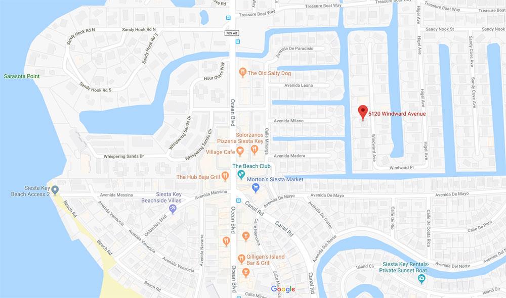 5120 Windward Ave Map
