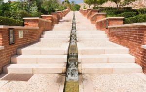 Stairs waterfall Alcazaba gardens, Almeria, Spain - Forex Options