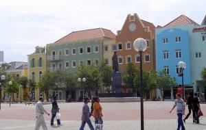 Brionplein Square in Wilhemstad, Curacao