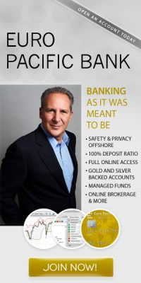 Peter Schiff, founder of Euro Pacific Bank