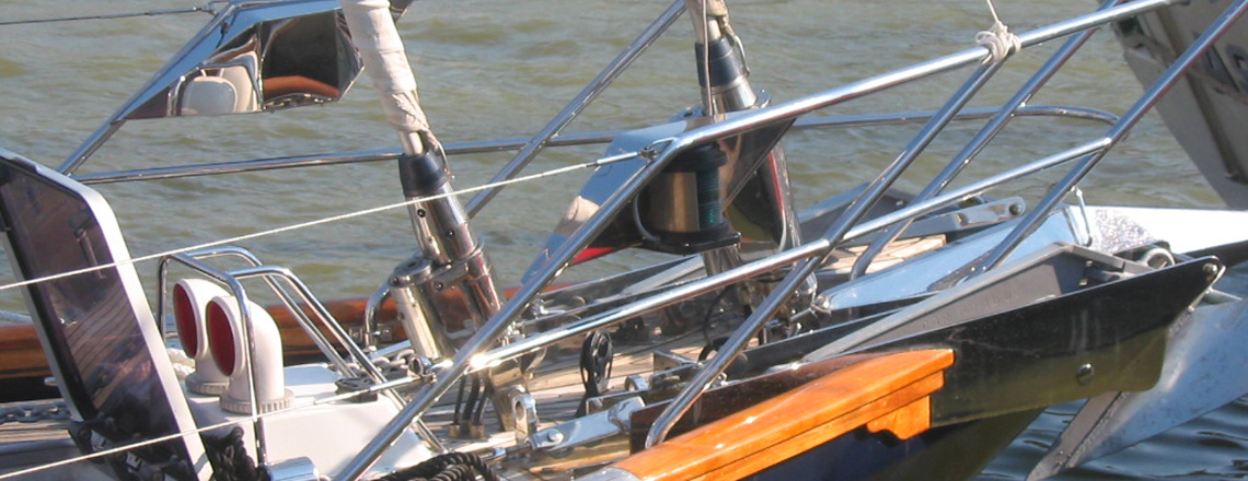 sail boat foredeck