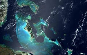 Satellite image of Bahamas in April 2000 - About Personal Tax Avoidance by Bill Cara