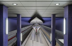 Munich subway station Hasenbergl - Retirement Mistake