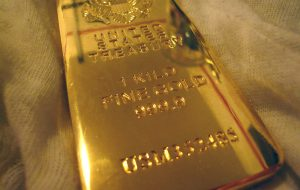 Negative interest rates and price of gold