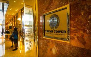 Trump election - Trump tower