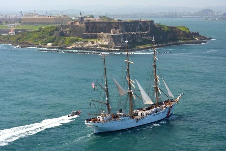 The 16th-century Castillo San Felipe del Morro in San Juan, Puerto Rico - Overseas Territories of the USA