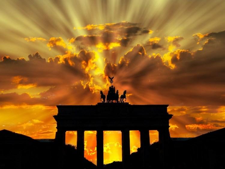 Brandenburg Gate, Berlin - Trump Revolution