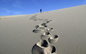 Oh my gosh Footprints