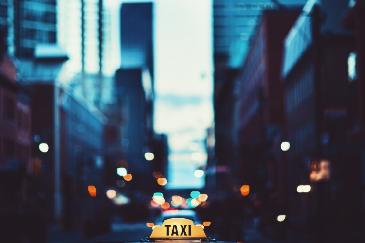 Foreign Buyers in an urban taxi