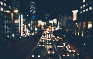 urban night blur by the economist