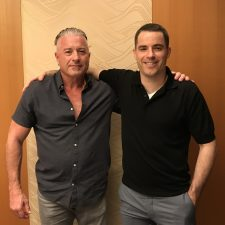 Calvin Ayre with Roger Ver, Oct 2017 (PRNewsfoto/Calvin Ayre Media Group)