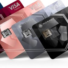 Cryptocurrency card future - Midnight Blue (Classic plastic card), Ruby Steel, Rose Gold, Space Gray (Platinum metal cards) and Obsidian Black (Limited Edition Platinum metal card)