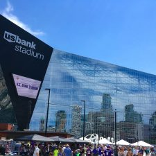 The U.S. Bank Stadium in Minneapolis, Minnesota, where Super Bowl LII will be held. - Big Book