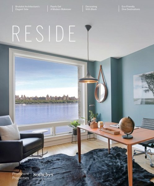 Sotheby's International Realty's Reside Magazine