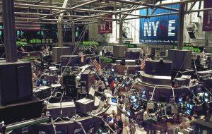 Asset Managers stock exchange trading floor New York Manhattan