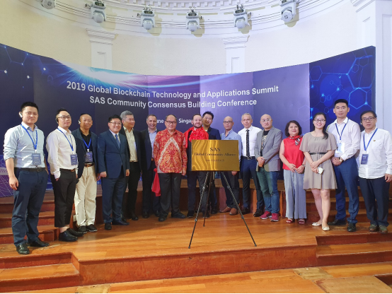 SAS Global Community Alliance Opened Ceremoniously in Singapore's Old Parliament