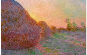Claude Monet Haystacks in the Art Market Report