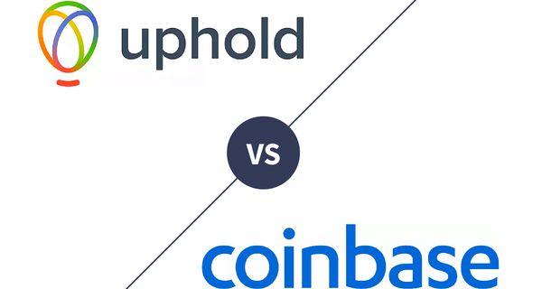 Uphold vs. Coinbase