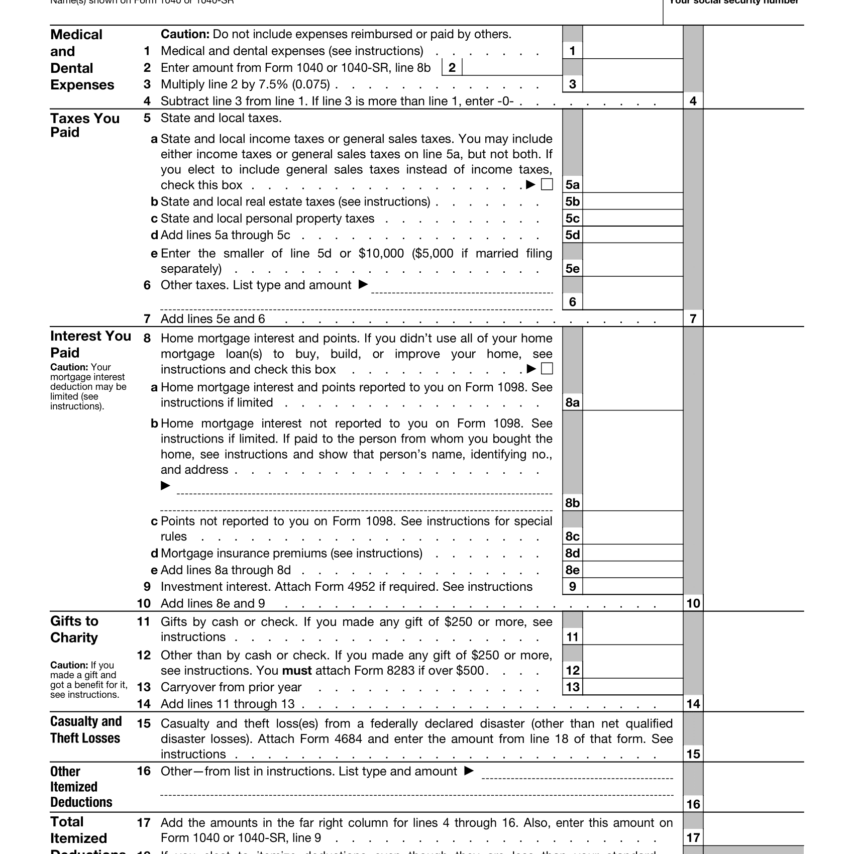 Instruction Tax Tables