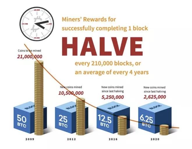 Bitcoin mining rewards