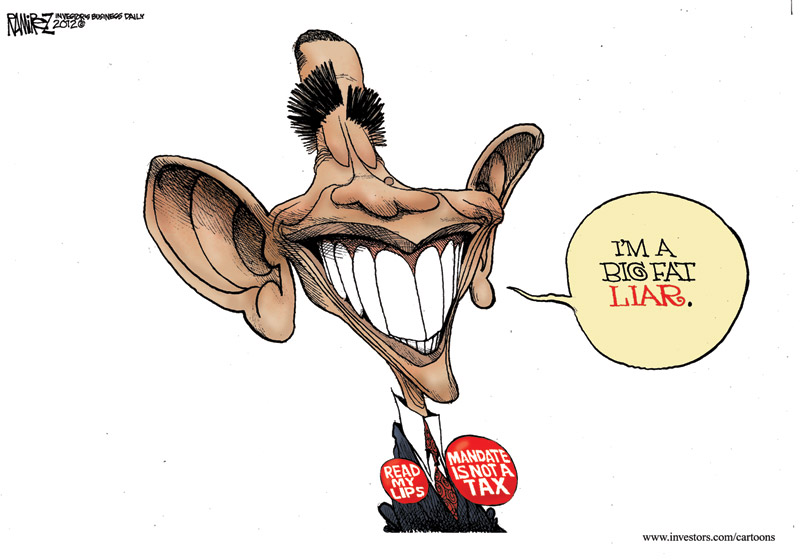 Michael Ramirez Cartoon