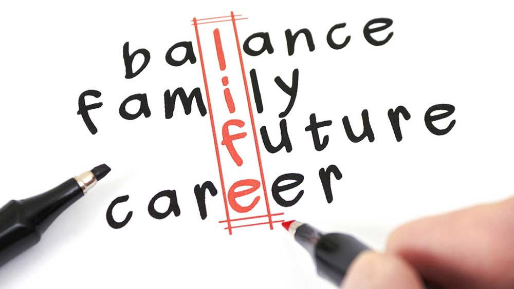 improve your productivity by creating a work life balance stock news