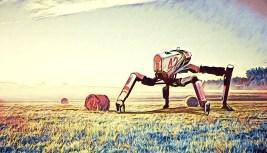 Farming robot concept