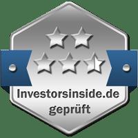 Prüfsiegel Silber Broker Vergleich Investors Inside