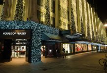 House of fraser close stores