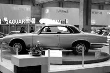 1973 Frankfurt Motorshow with Jaguar XJ Series 2