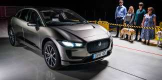 Jaguar I-PACE protects road users