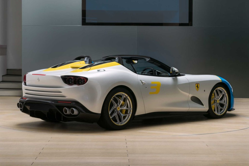Ferrari SP3JC rear view