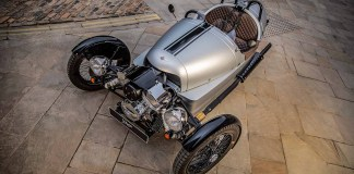 The latest Morgan 3 Wheeler