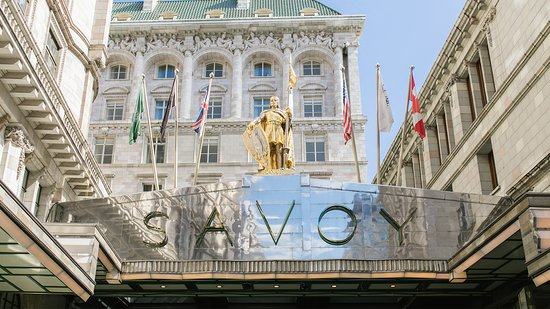 Entrance of the Savoy