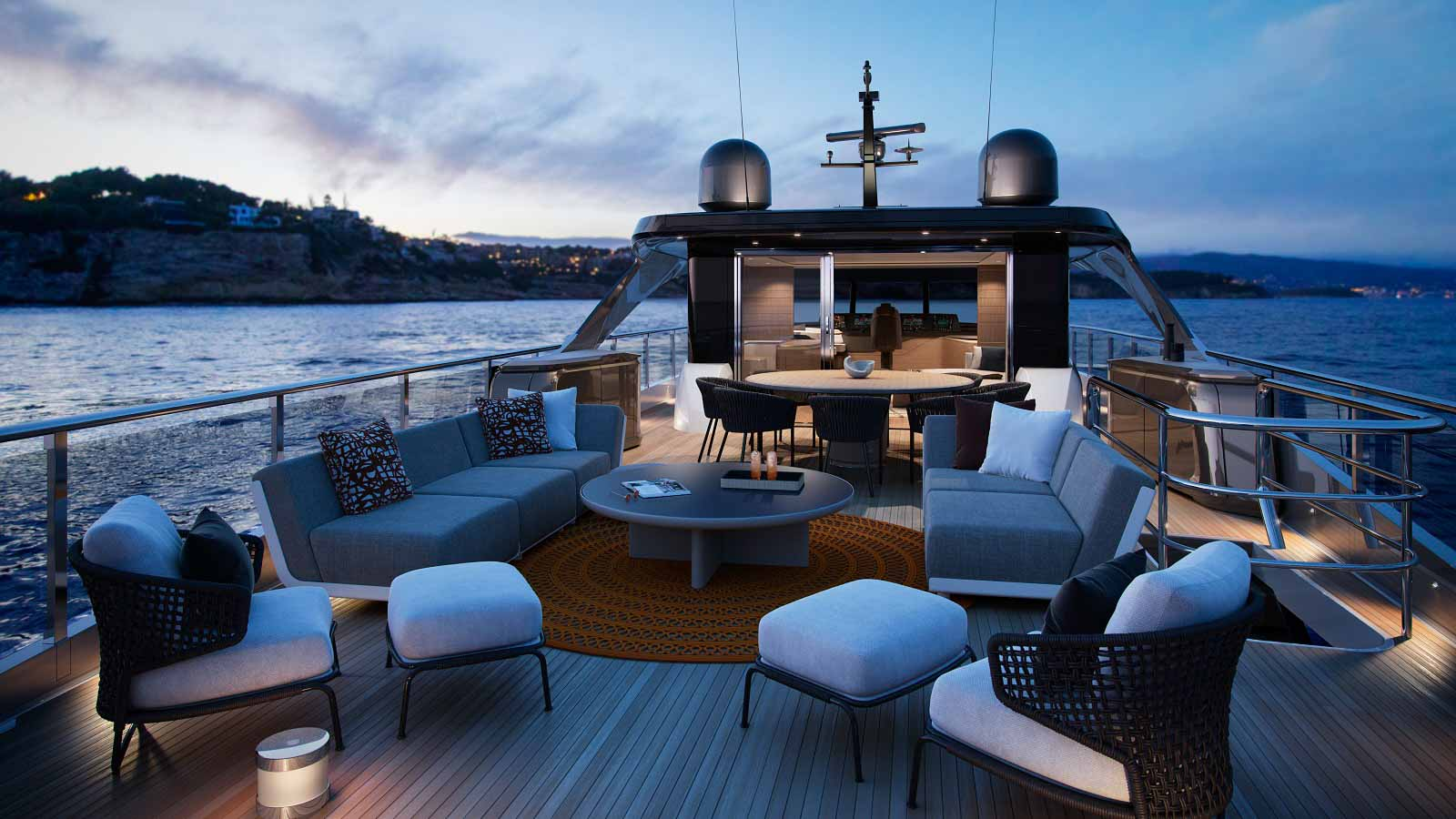 Record year for luxury yacht builder