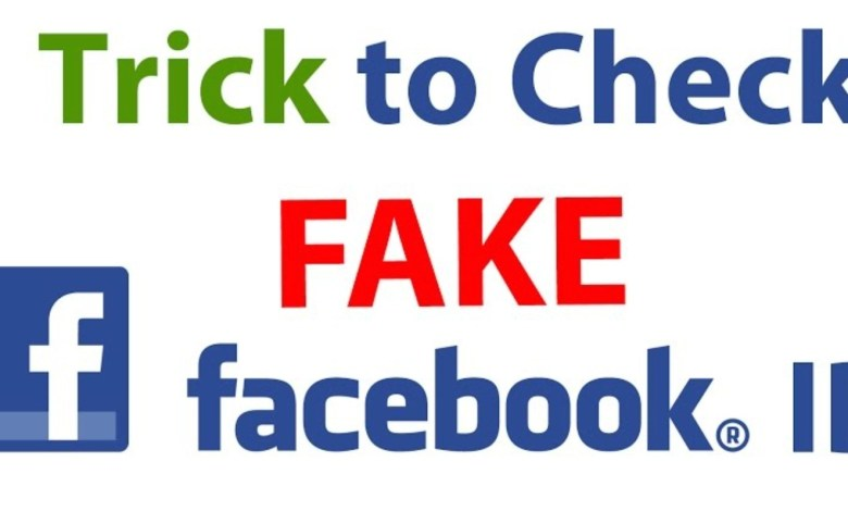 how to check facebook id real or fake