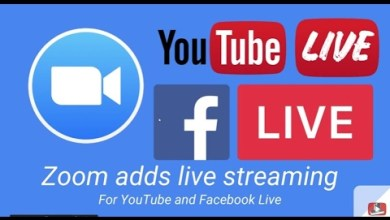 Zoom to Youtube live