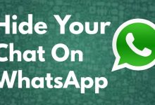 How to hide personal chats on WhatsApp