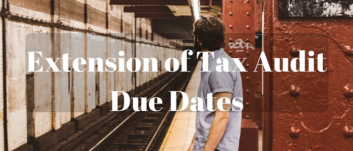 tax audit extension