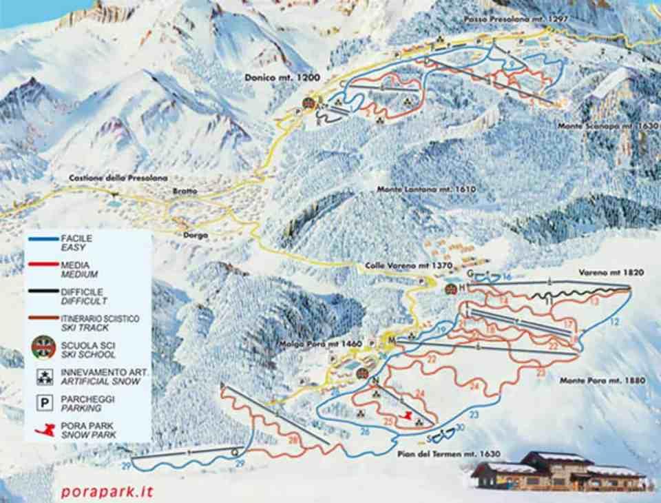 Presolana Monte Pora ski area