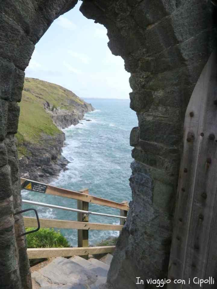 Porta del Castello del Tintagel Cornovaglia