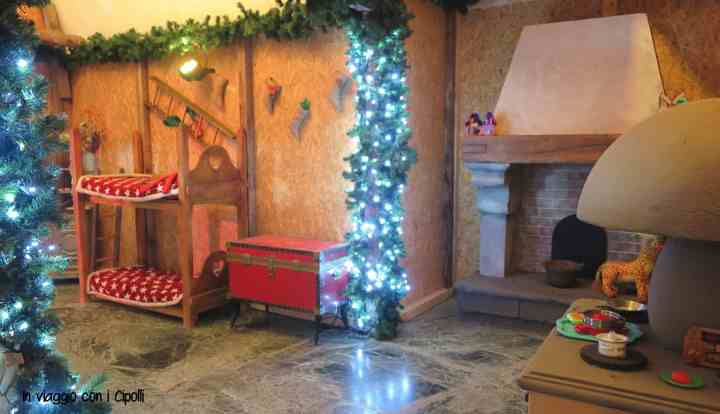 Casa degli Elfi Paese di Babbo Natale