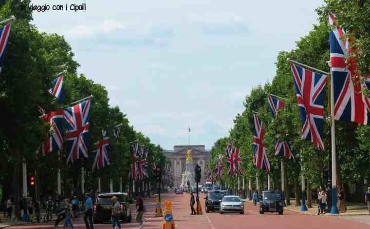 Londra The Mall