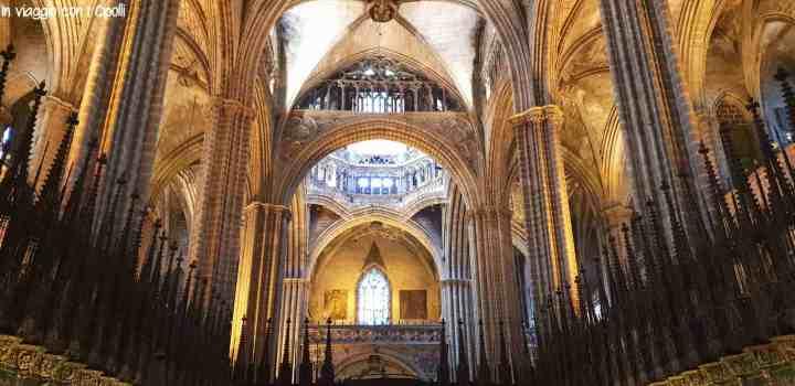 Interno Cattedrale Barcellona